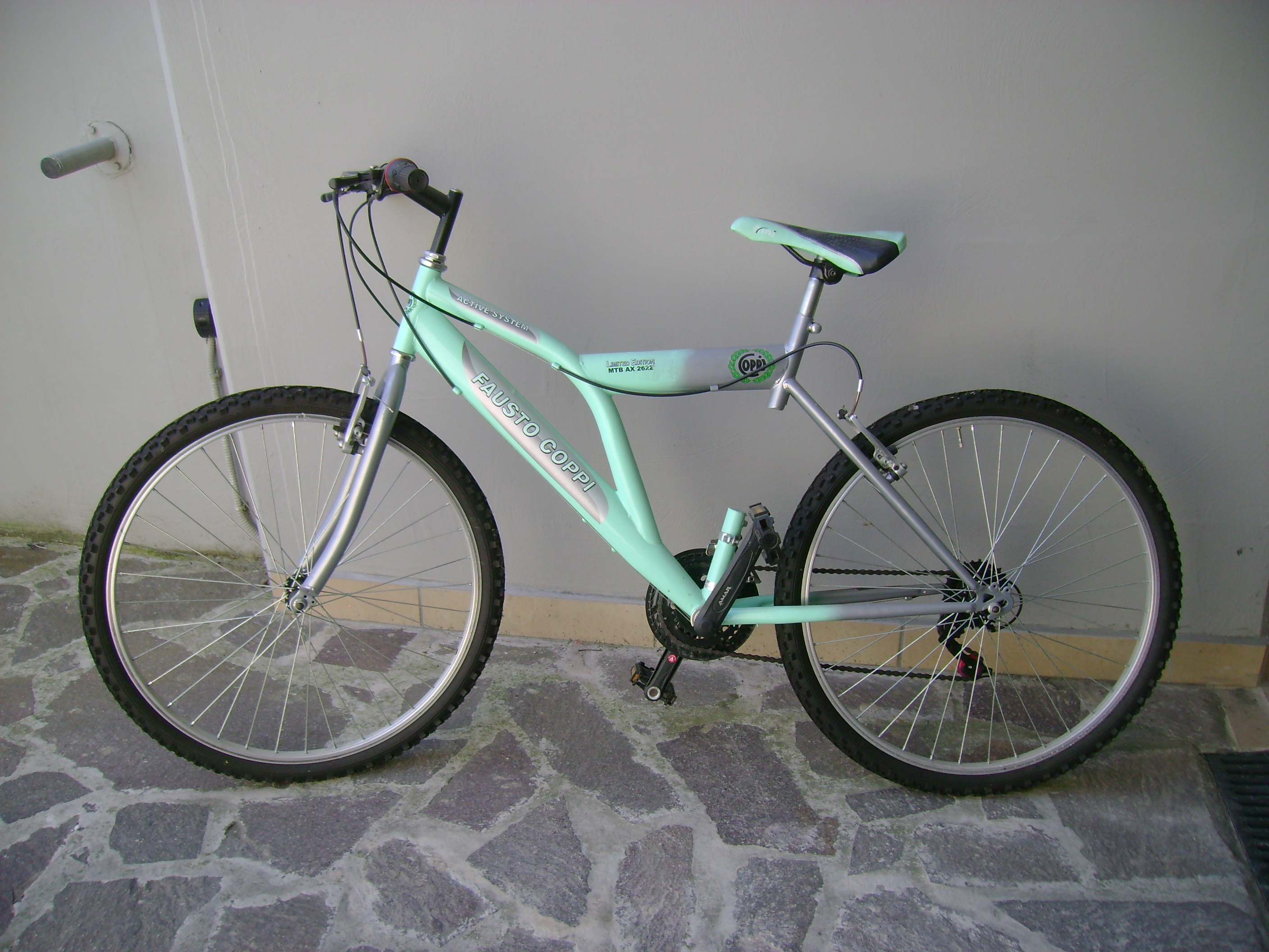 Mountain Bike Fausto Coppi Limited Edition Mtb Ax 2622 Active